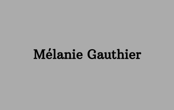 Mélanie Gauthier
